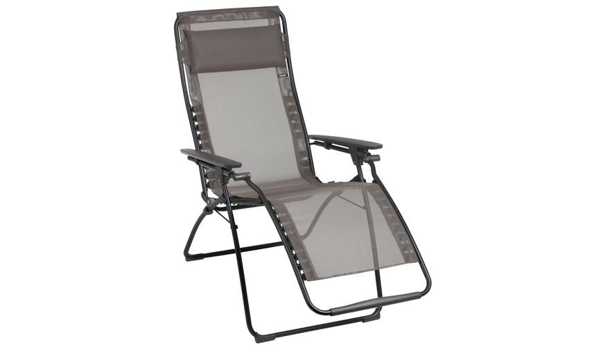 Lafuma Mobilier Futura Camping zitmeubel Classic Batyline grijs
